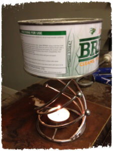Briwax Melting For Shabby Chic Waxing