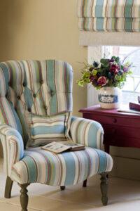 as fabric chair