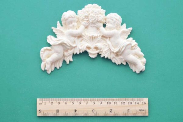 Small Cherub Bouquet Moulding