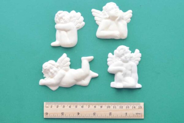Cherub Set Resin Moulding