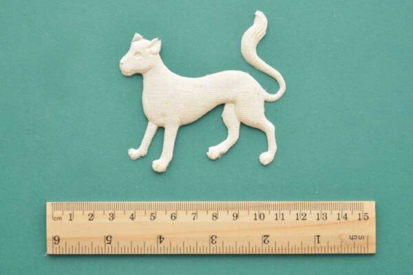 Medieval Cat Resin Moulding