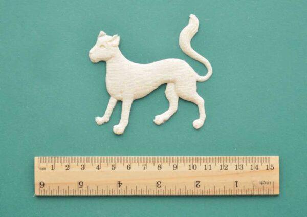 Medieval Cat Resin Moulding