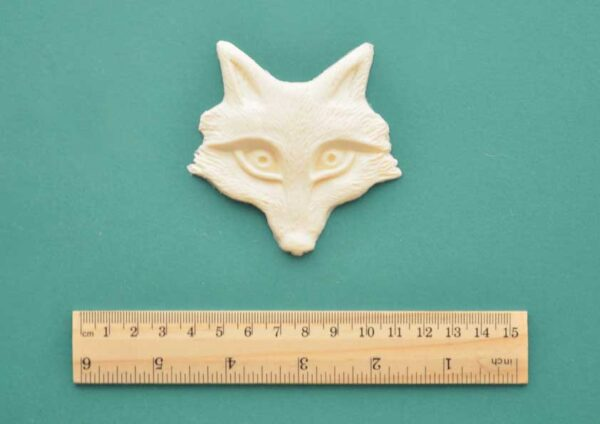 Fox Face Resin Moulding
