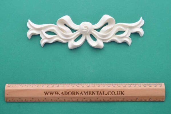 Large French Ornate Bow Resin Moulding