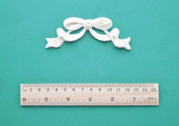 Rope and Ribbon Bow Resin Moulding