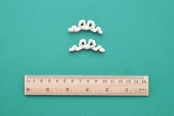 Tiny Bow Resin Mouldings