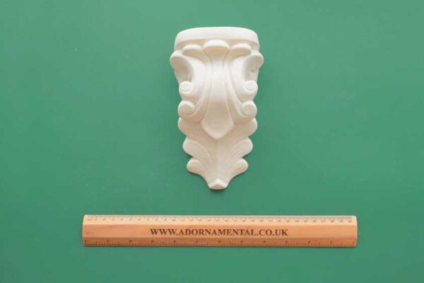 Extra Large Scroll Corbel Resin Moulding
