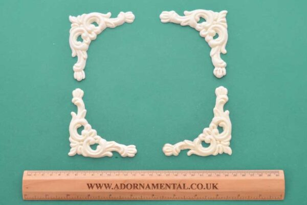 Victorian Corner Mouldings Set