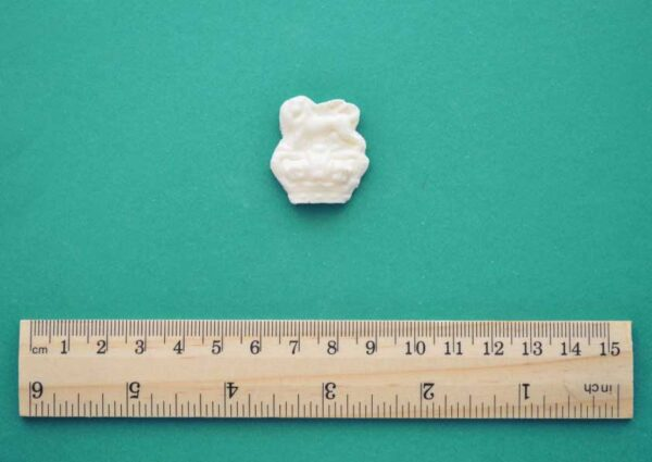 Tiny Lion Crown Resin Moulding
