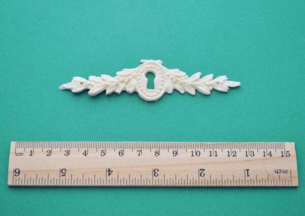 Laurel Leaf Keyhole Escutcheon