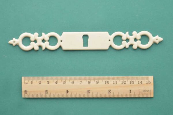 Barbell Escutcheon Resin Moulding
