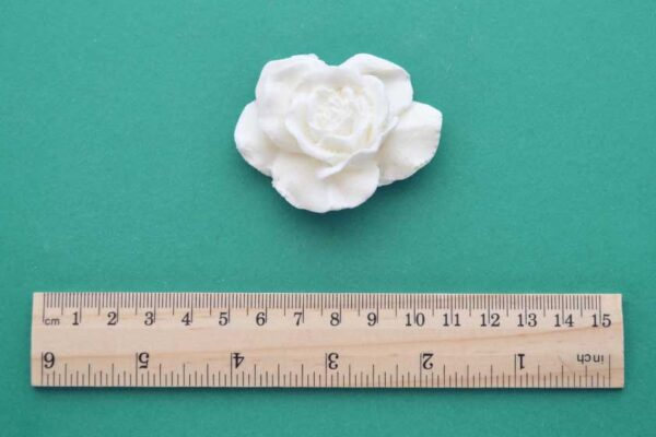 Open Rose Resin Moulding