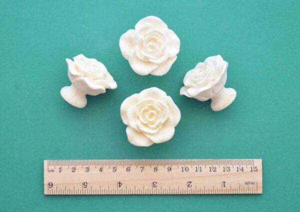 Rose Handle Knobs Set
