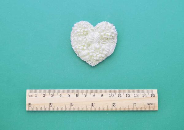 Floral Heart Resin Moulding