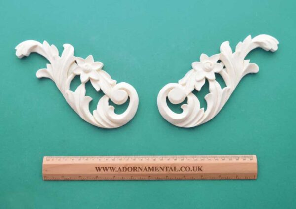 Large French Floral Scrolls