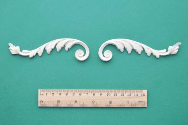 Roman Feather Scroll Mouldings