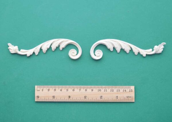 Roman Feather Scroll Mouldings