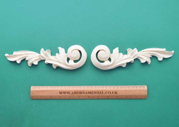 Ornate French Scroll Mouldings