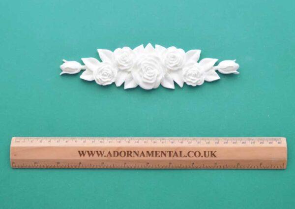 Victorian Rose Bouquet Moulding