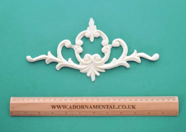 Victorian Scroll Plume Centrepiece