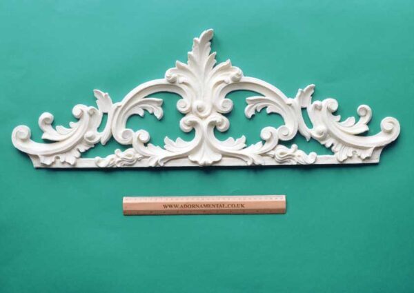 Vintage Over-Door Pediment