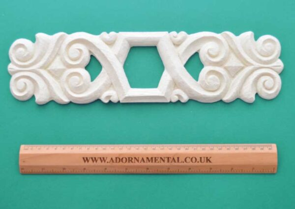 Large Oblong Scroll Centrepiece