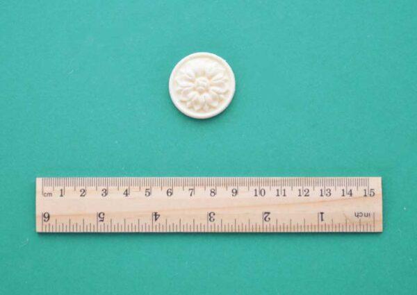 Flower Medallion Resin Moulding
