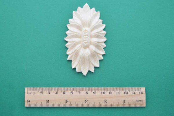 Sunflower Oval Resin Moulding