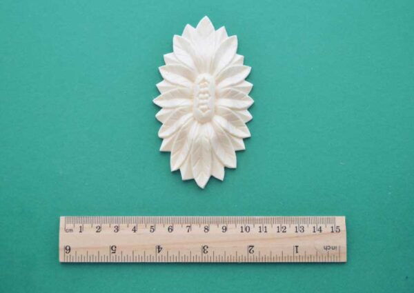 Sunflower Oval Resin Moulding