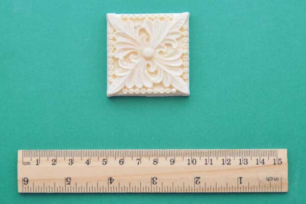 Acanthus Decorative Square Moulding
