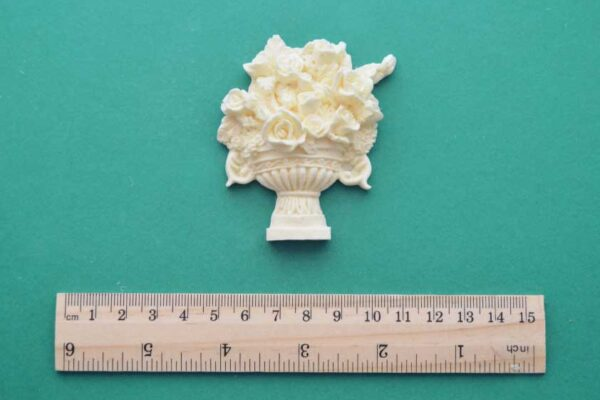 Rose Vase Resin Moulding