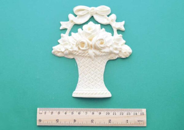 Rose Basket Resin Moulding