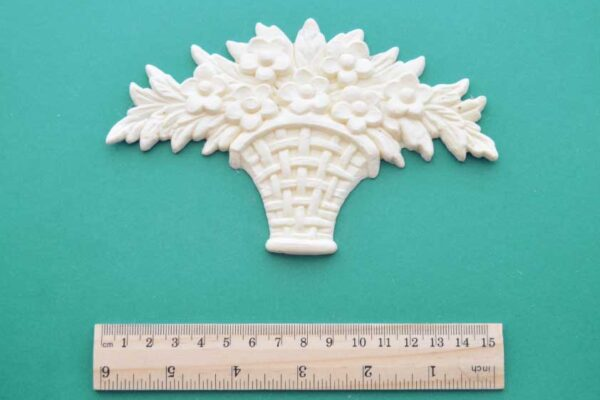 Floral Basket Bouquet Moulding