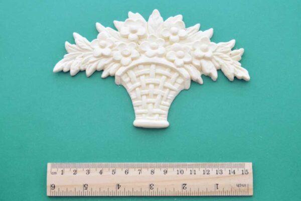 Floral Basket Bouquet Moulding