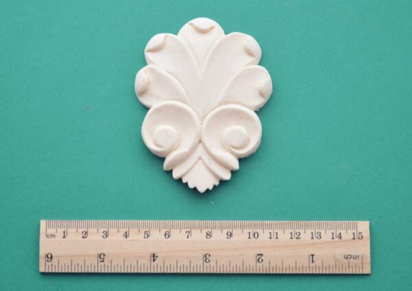 Scroll Shell Resin Moulding