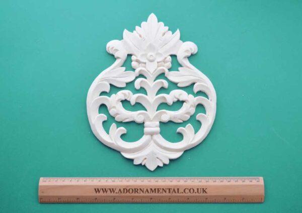 Leafy Scroll Centrepiece Moulding
