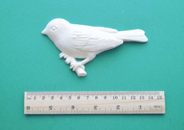 Perched Bird Resin Moulding