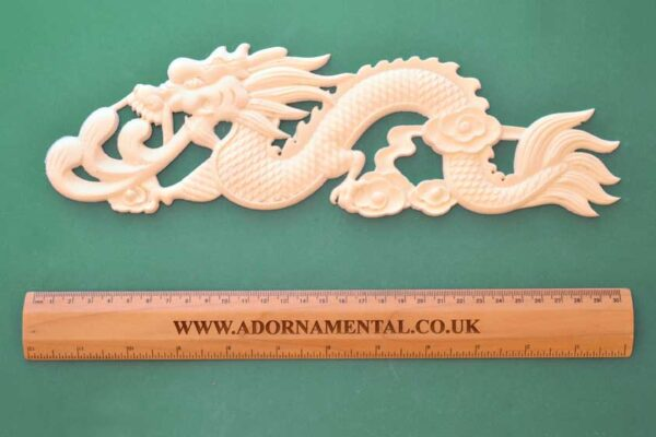 Chinese Dragon Facing Left