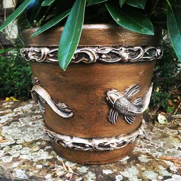 Fish Plant Pot