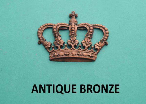 Antique Bronze Crown