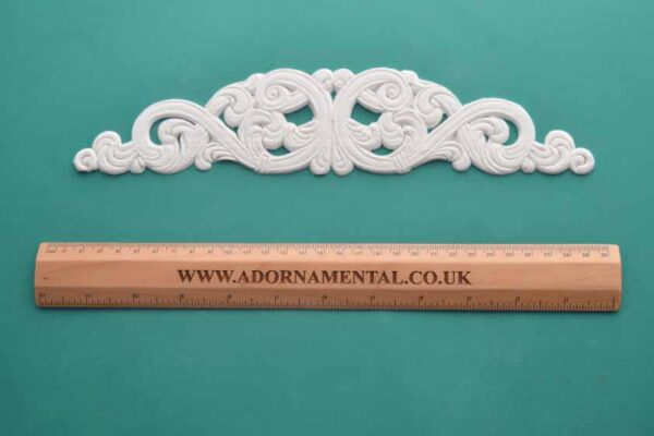 Flat Scrolled Centrepiece