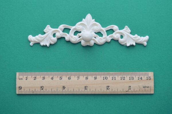 Decorative Backplate Knob Pull