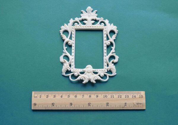 square rococo frame